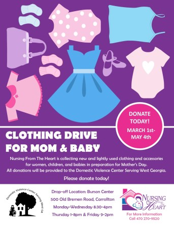 CCES Clothing Drive 2018